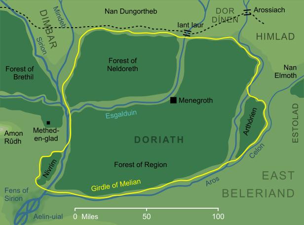 The Encyclopedia of Arda - Doriath