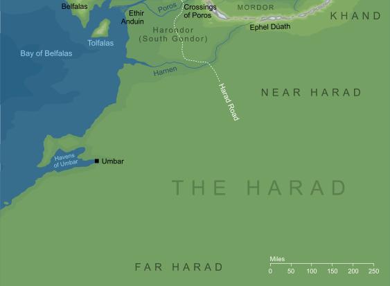 The Encyclopedia of Arda - Harad