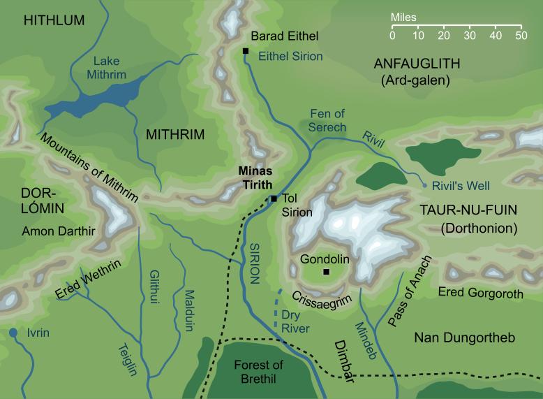 The Encyclopedia of Arda - Minas Tirith