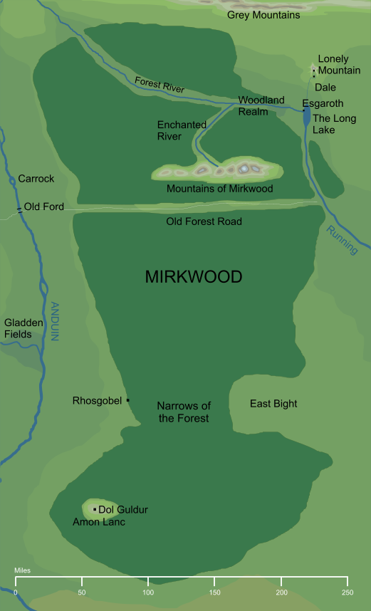 The Encyclopedia of Arda - Mirkwood