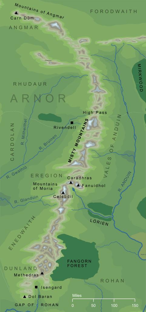 The Encyclopedia of Arda - Misty Mountains