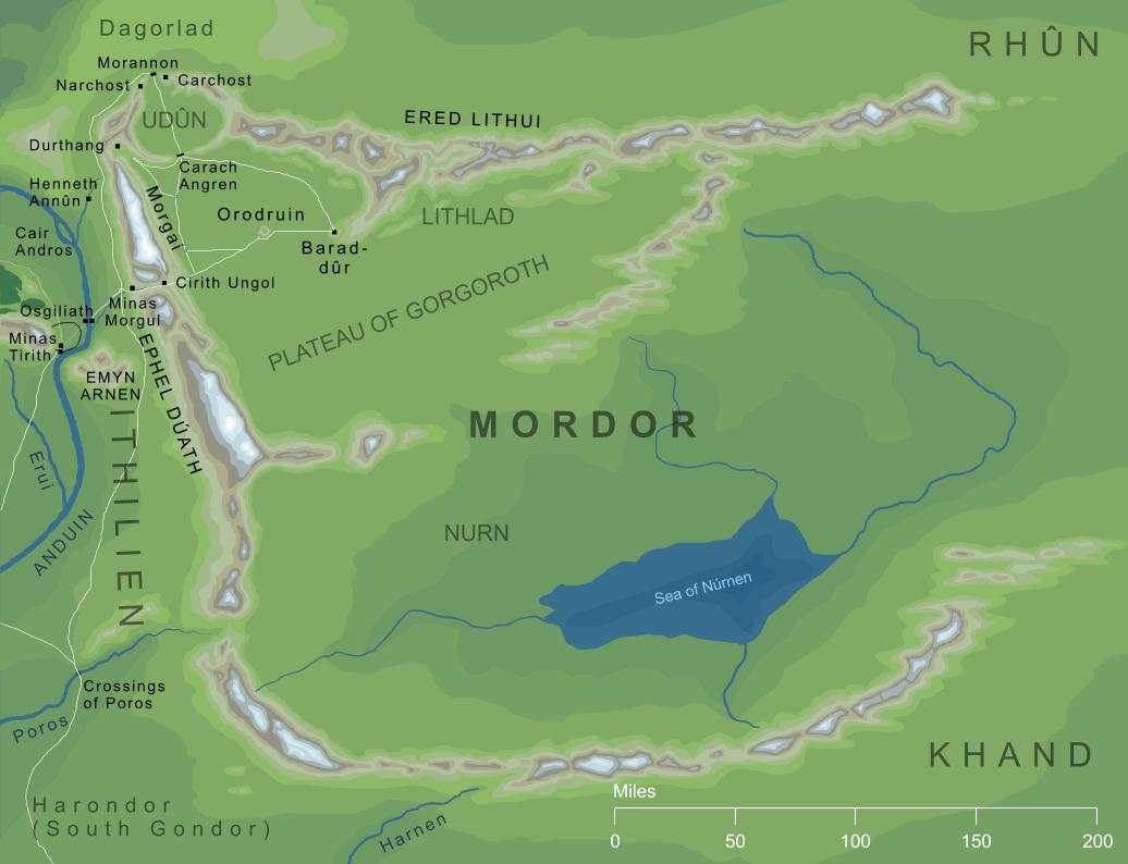 The Encyclopedia of Arda - Mordor